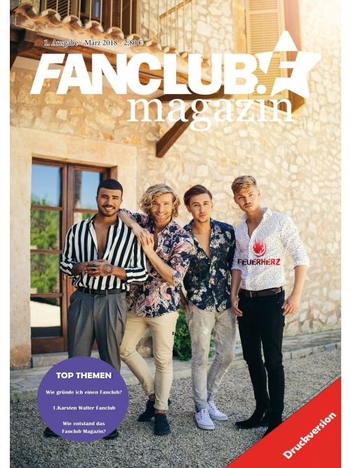 Ausgabe 1 - Fanclub Magazin