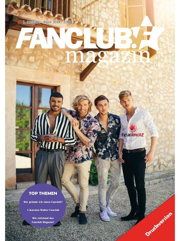 Fanclub Magazin - Ausgabe 1