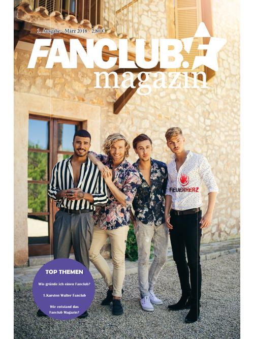 Fanclub Magazin Ausgabe 1 - Digital