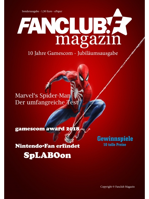 Fanclub Magazin Sonderausgabe - 10 Jahre Gamescom