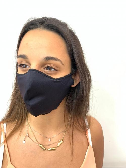Schutzmaske - Schwarz